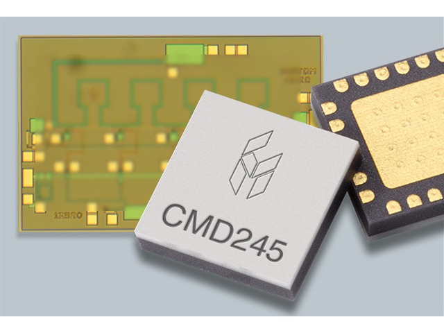 Custom MMIC: new Low Phase Noise Amplifier