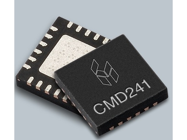 Custom MMIC: Ultrawideband 2-22 GHz LNA now offered in plastic 4x4 QFN package