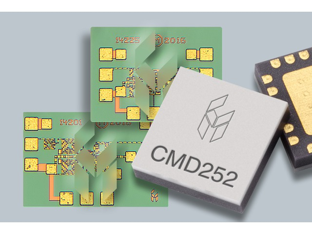 Custom MMIC has announced three new GaAs MMIC mixers for C-band, X-band, K-band, and Ka-band applications