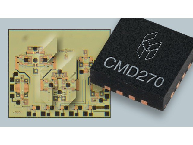 Custom MMIC: new Low Noise Amplifier and Phase Shifter MMICs