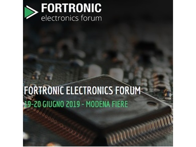 Present at Fortronic Electronics Forum 2019